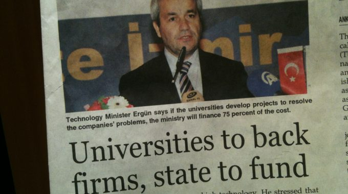 Turkish Commitment To Innovation Through University-business Cooperation