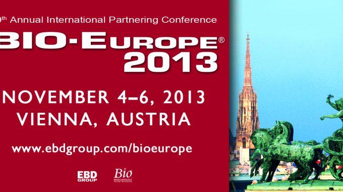 BIO-Europe 2013: Stimulating Innovation In Life Science!