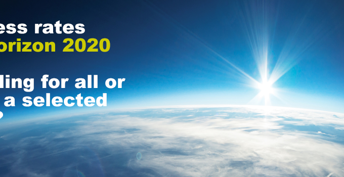Success Rates In Horizon 2020 – Funding For All Or Only A Selected Few?