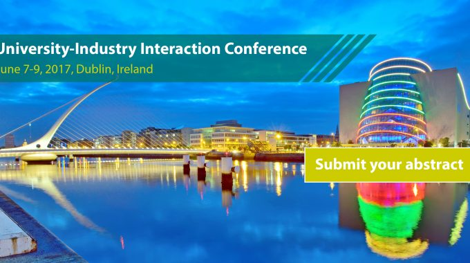 2017 University-Industry Interaction Conference: Call For Abstracts