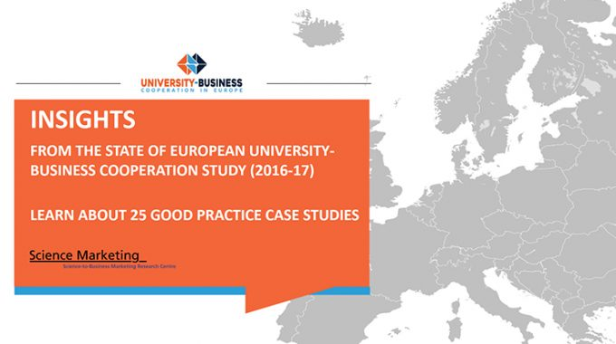 25 New Good-Practice Case Studies On University-Business Cooperation (UBC) In Europe And Beyond