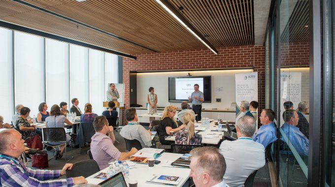 Professor Paul Coyle On The Entrepreneurial Mindset Workshop Designed For Higher Education Professionals