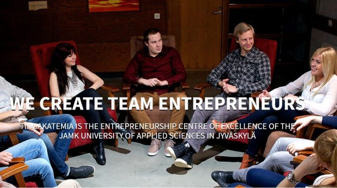 TIIMIAKATEMIA Finland (TEAM ACADEMY) – Earn A Degree By Building A Successful Business!