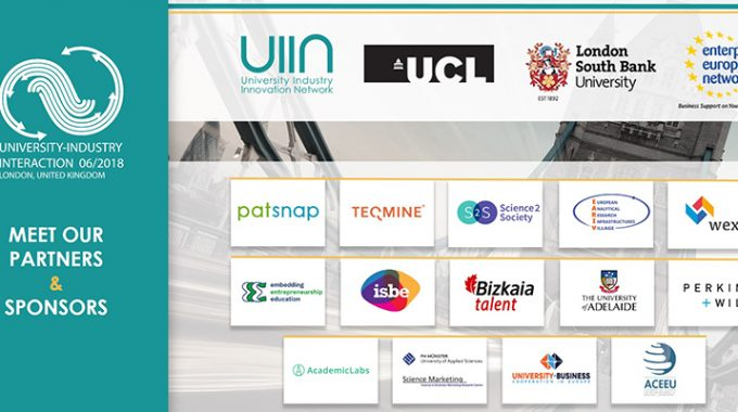 Meet Distinguished Partners And Sponsors Of The 2018 University-Industry Interaction Conference