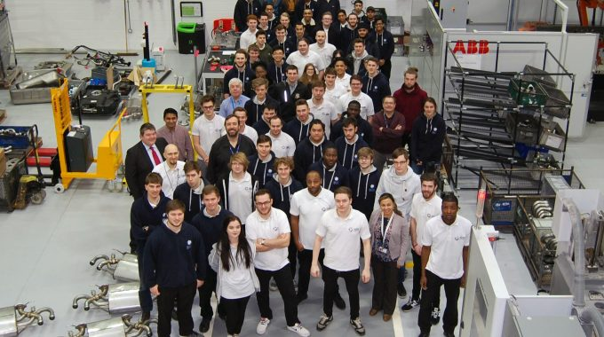 "Rewriting The Approach To Engineering Education: UK's First ""Faculty On The Factory Floor"""