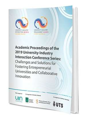 Academic Proceedings Of The 2019 University-Industry Interaction Conference Series