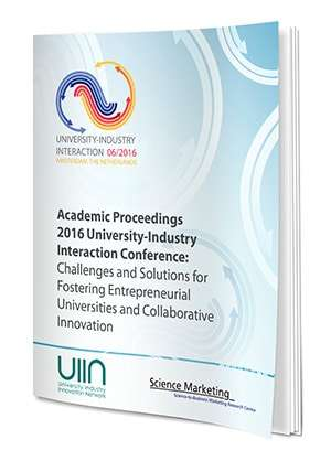Academic Proceedings Of The 2016 University-Industry Interaction Conference