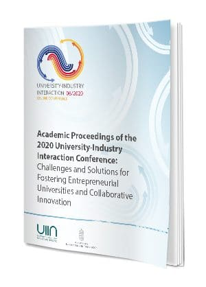 Academic Proceedings Of The 2020 University-Industry Interaction Conference Series