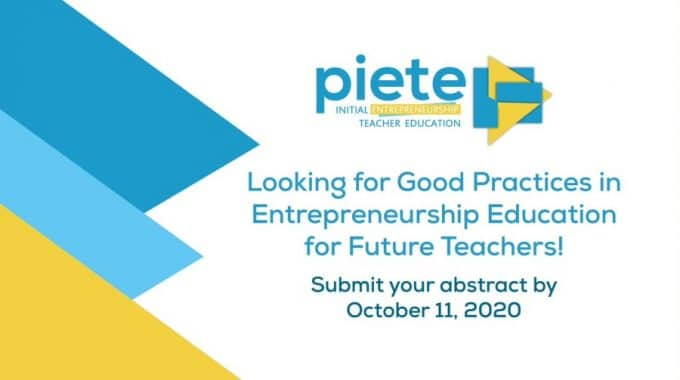 We Are Looking For Good Practices In Entrepreneurship Education For Future Teachers!