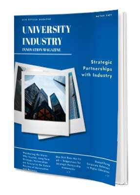 Magazine | Strategic Partnerships With Industry  – March 2021