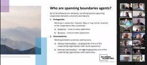Spanning Boundaries Training Programme, second cohort kick-off